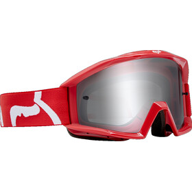 Fox Main Race Goggle Youths red